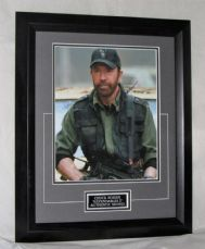 "A242CN CHUCK NORRIS - ""THE EXPENDABLES 2"" SIGNED"